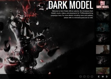 darkmodelmusic.com