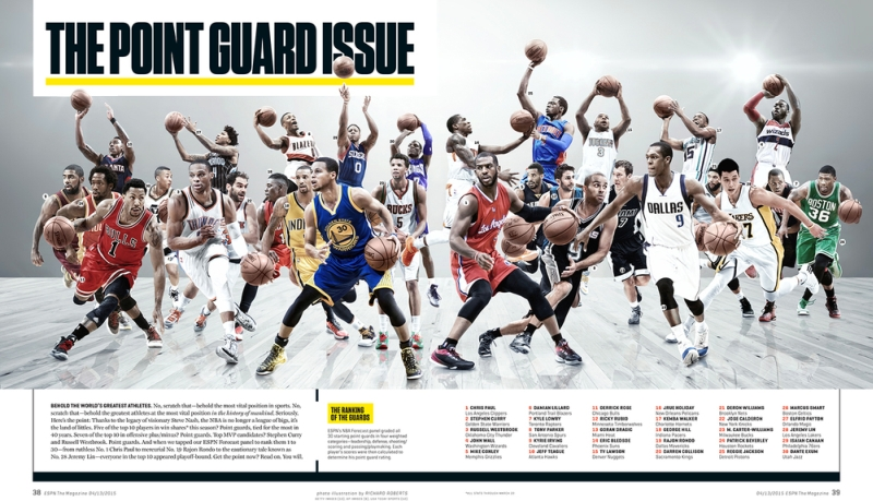 ESPN Point Guards by Richard Roberts