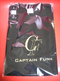 Captain Funk T-shirt Black