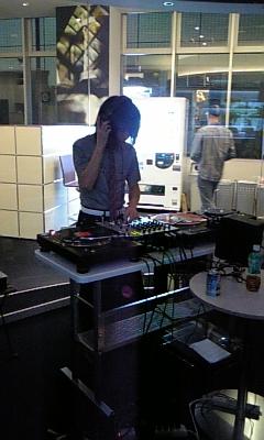 Tatsuya Oe (Captain Funk) at Inter FM