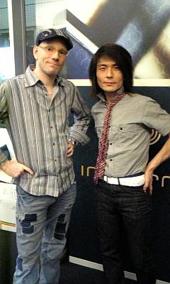 Bryan Burton-Lewis & Tatsuya Oe (Captain Funk)