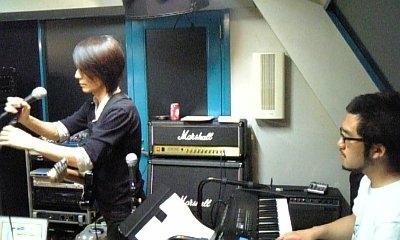 Tatsuya Oe & Keisaku Nakamura at a rehearsal studio