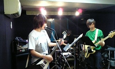 Hitoshi Arai & Masanori Shimada at a rehearsal studio