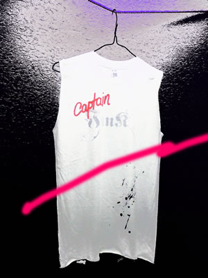 Captain Funk No Sleeve T-shirt White