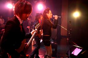 Meri Neeser & Masanori Shimada at Captain Funk release party