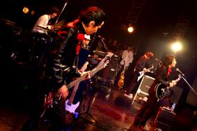 Tsunamatsu Matsui & Tatsuya Oe at Captain Funk release party