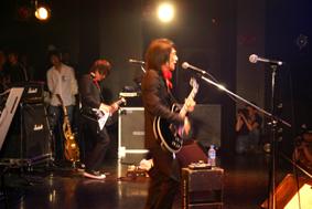 Tatsuya Oe & Hitoshi Arai at Captain Funk release party