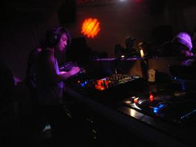 Tatsuya Oe DJ at Club Karma1