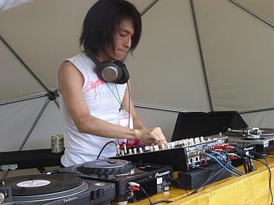 Tatsuya Oe at Fuji Rock Festival 2007-2