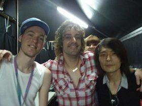 Fuji Rock Festival (フジロック)のDJから戻ってきました