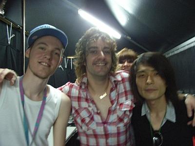 Captain Funk & Space Cowboy at Fuji Rock Festival 2007