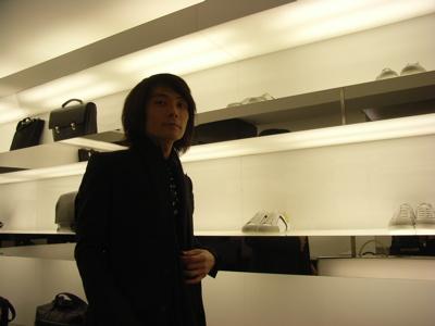 Tatsuya Oe at Dior Homme Paris