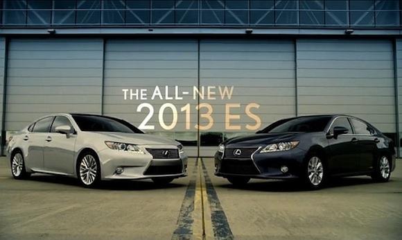 Lexus ES 2013 Advertising US