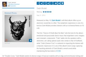 「このシンフォニックな体験は唯一無二」 – Dark Model アルバム・レビュー第5弾