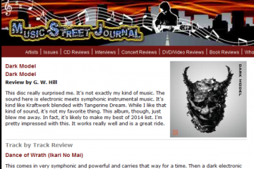 Dark Model album review on Music Street Journal_0529
