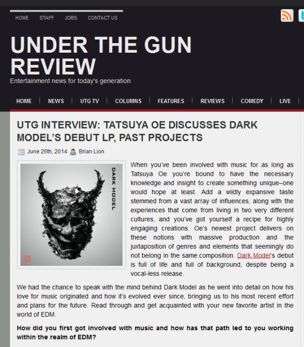 Dark Model_Interview_on_Under_The_Gun_Review_0626_sm