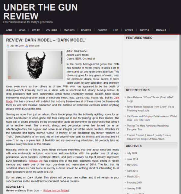Dark Model_album_review_on_Under_The_Gun_Review_0707