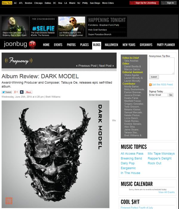 Dark Model_review_on_Joonbug_0625_sm
