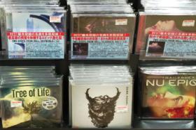 Dark Model CD店頭状況(タワーレコード渋谷店)報告など