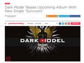 Dark Model「Saga」米国盤、本日発売にあたり(レビュー紹介 第一弾)