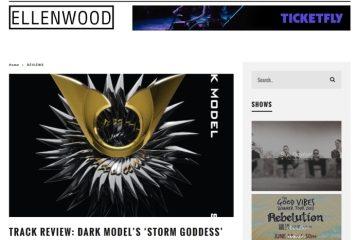Dark Model-Storm Goddess on Ellenwood