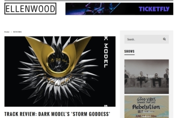 Dark Model-Storm Goddess on Ellenwood