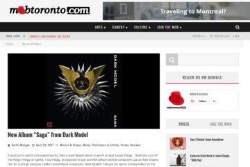 Mob Toronto - Dark Model - Saga