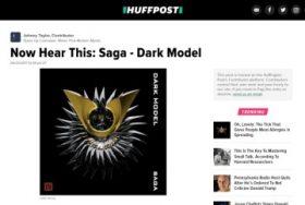 Dark Model「Saga」レビュー 第五弾(米ハフポスト)、そして新曲「Avalon」
