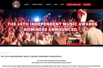 The 16th Independent Music Awards Nominees Announced