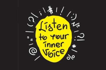 「内なる声」と、良性の「現実歪曲能力」