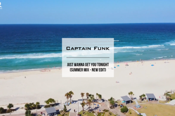 "Captain Funk - ""Summer Mix 2020 Video"" on Youtube (Audio Teaser & Link to the Full-length Mix)"